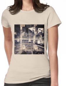 Standing on Air Womens Fitted T-Shirt