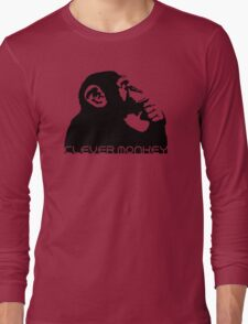 Clever Monkey Long Sleeve T-Shirt