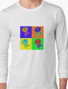 Vid game Pop Art Long Sleeve T-Shirt