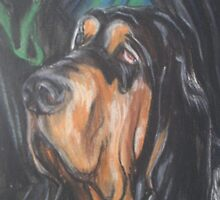 Bert The Bloodhound by Tracy Manning