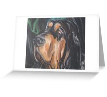 Bert The Bloodhound Greeting Card