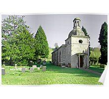 St Mary's Church, Mapleton Poster
