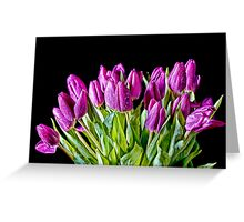 All Bunched Up Greeting Card