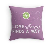 Love Always Finds a Way Throw Pillow