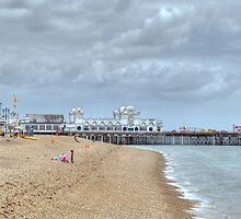 Beach Life - Southsea by Lucy Hill