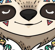 Sloth Head Sticker