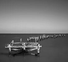 Old Swanage Pier by igotmeacanon