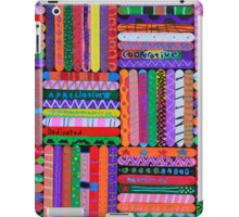 Pattern Sticks iPad Case/Skin