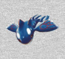 Kyogre, mighty water type Pokemon One Piece - Long Sleeve