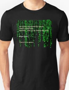 The Matrix: There is no spoon T-Shirt