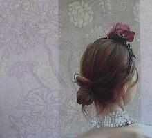 Tesserò i tuoi capelli come trame di 1 canto , 2010  by cristina iotti