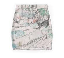 SHUU CAT 2(ORIGINAL SKETCH)(C2012) Mini Skirt