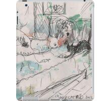 SHUU CAT 2(ORIGINAL SKETCH)(C2012) iPad Case/Skin