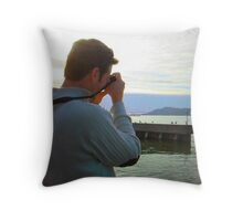 Got You in My Sites Throw Pillow
