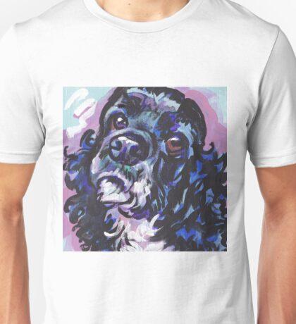 American Cocker Spaniel Dog Bright colorful pop dog art Unisex T-Shirt