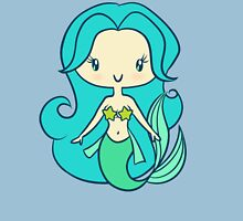 A Mermaid Without Her Pants - Lil' CutiE Womens Fitted T-Shirt