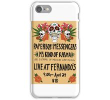 Paperboy and the Messengers Mexican Wrestling iPhone Case/Skin