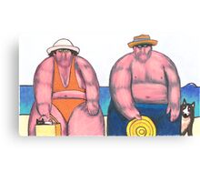 On the Beach 9 - Bring the Whole Family Canvas Print
