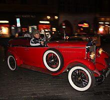 Vintage Car, Prague by LisaRoberts