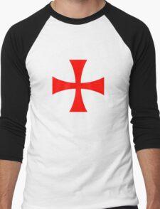 Templar cross Men's Baseball ¾ T-Shirt