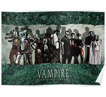 MET: Vampire The Masquerade - Green Marble #4 Poster