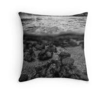 UNA river Throw Pillow