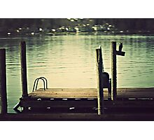 Meet Me By the Dock Photographic Print