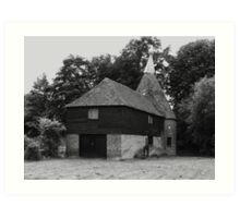 The Oast Art Print