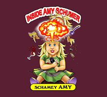 SheVibe Presents Schamey Amy Cover Art Womens Fitted T-Shirt