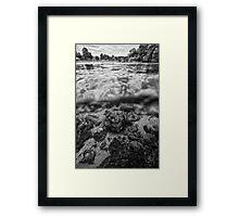 UNA river2 Framed Print