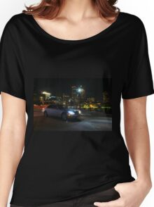 Night Out In Boston Women's Relaxed Fit T-Shirt