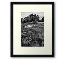 UNA river3 Framed Print