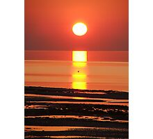 Sun Down Photographic Print
