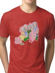 Virgin Suicides names design Tri-blend T-Shirt