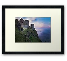 Twilight at Dunluce Castle | Irish Landscape | Pictures Of Ireland Framed Print