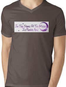 In The Name of The Moon - Sailor Moon Mens V-Neck T-Shirt