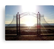 Sunrise over Dundrum Bay Canvas Print