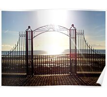 Sunrise over Dundrum Bay Poster