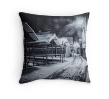 Stalling the opening Throw Pillow