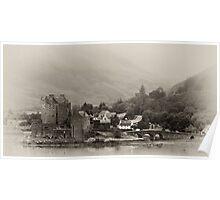 Eilean Donan Castle - Loch Duich, Western Highlands Poster
