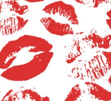 Red lips Sticker