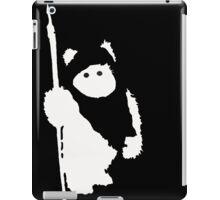 Ewok Silhouette (Black) iPad Case/Skin