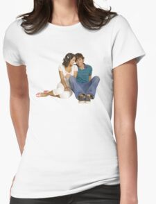 Troy and Gabriella Womens Fitted T-Shirt