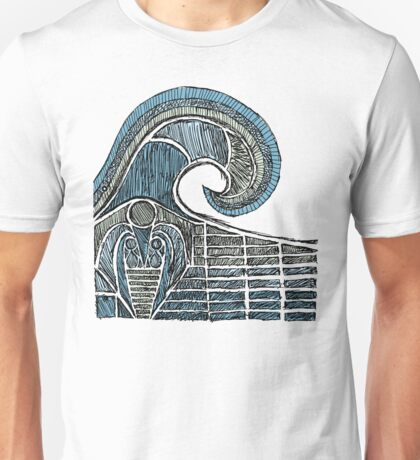 Leviathan Sketch - Color Unisex T-Shirt