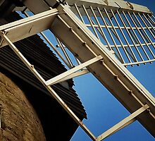 Windmill & Blue Sky at Bradwell - Milton Keynes by Nick Bland