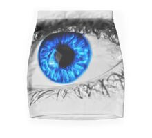 Blue Eye Mini Skirt