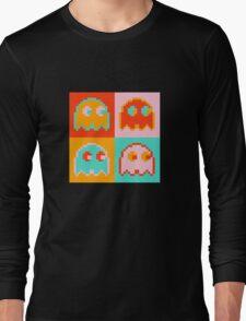 Pac-Man Ghost  Long Sleeve T-Shirt