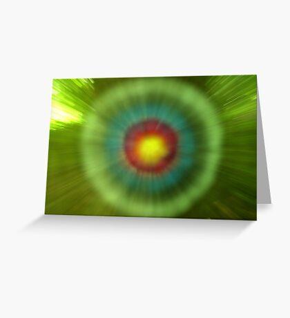 Target. Greeting Card