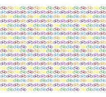 Colorful Bicycles Photographic Print