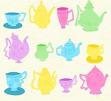 Alice in Wonderland Tea Set by WDWCEC23